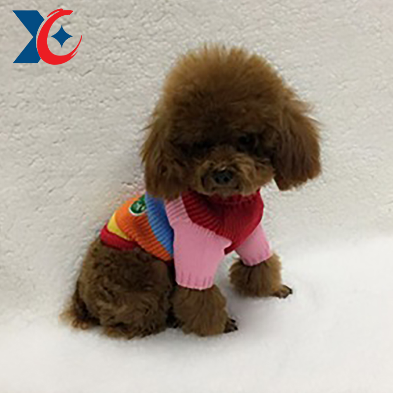 factory supply high quality cute dog pet clothing sweater