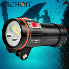 ARCHON Special Design W43VP 5200 lumens UV, Red, White Color LED Scuba led Diving Video Light,Underwater Video Lamp