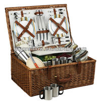 Cheap Wholesale Wicker Picnic Basket For