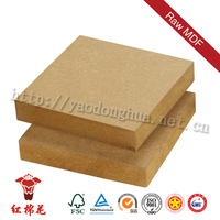 Decoration or furniture grade oak/pine faced mdf board 18mm thickness