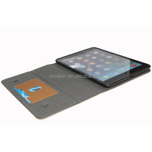 Universal Flip Leather case PU Smart Stand Holder Cover For ipad