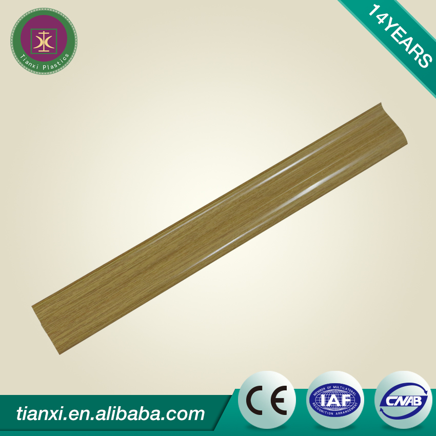 High quality polyurethane moulding 451-85d pvc skirting board