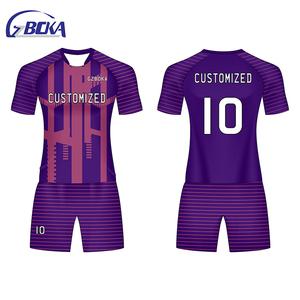 8125cc31e8a13 Hot sell uniformes de futbol soccer portugal youth soccer uniforms sets  football kit