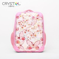 China Factory PC 1680D Material High Quality Transparent PC 1680D Fashion Style School Bag Backpack For Kids
