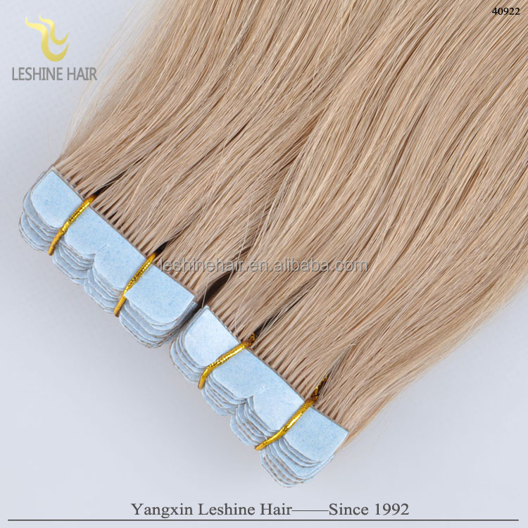 100 Percent Virgin Remy unprocessed pure blue tape hair