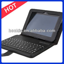 Newest Detachable Leather Case Bluetooth Keyboard for Kindle Fire HD 7