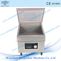Stainless steel body vacuum packing machine pillow fish and fruit food saver vacuum sealer sausage vacuum sealing machine