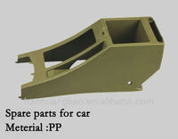 plastic spare part for cars