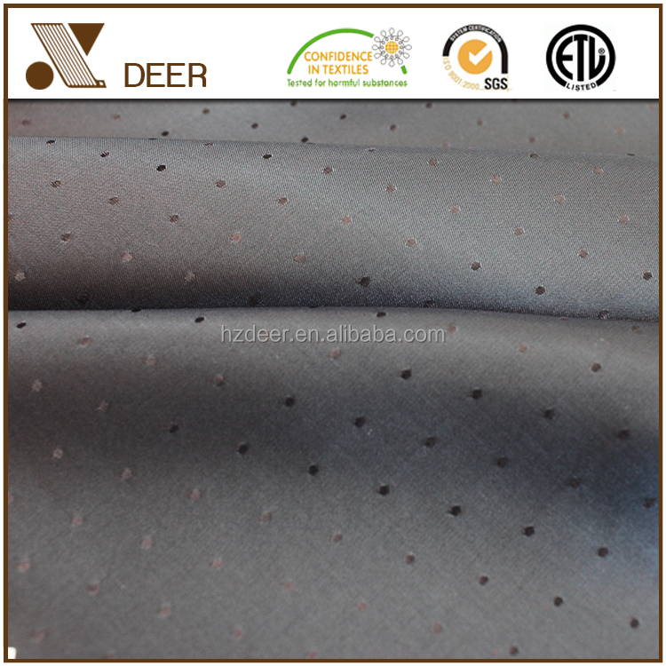 Microfiber Woven Polyester Garment Lining Striped and Jacquard Fabrics