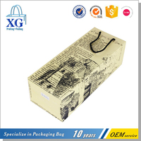 customized wholesales wine paper bag