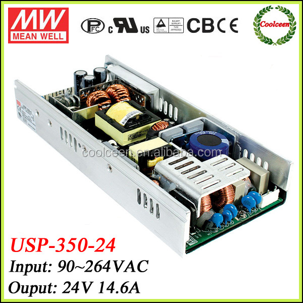 Meanwell USP-350-24 350.4W PFC led power transformer