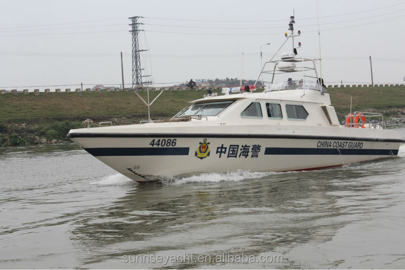 15M High Speed Patrol Boat For Coastal Guard Military Boat For Sale