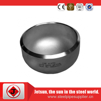Welding connection forged low press carbon steel cap