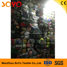 mixed colored top industrial 100% cotton wiping rags of 20kg/bale