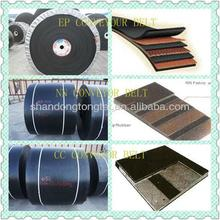 Professional manufacturer provides high quality cheap iron ore industry used cotton rubber conveyor belt