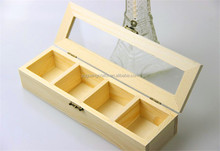 custom wood box with chest / wooden essential oil box