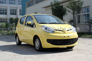 EEC And DOT Approved Electric Car With 20KW Peak Power And 100Km/H Max Speed