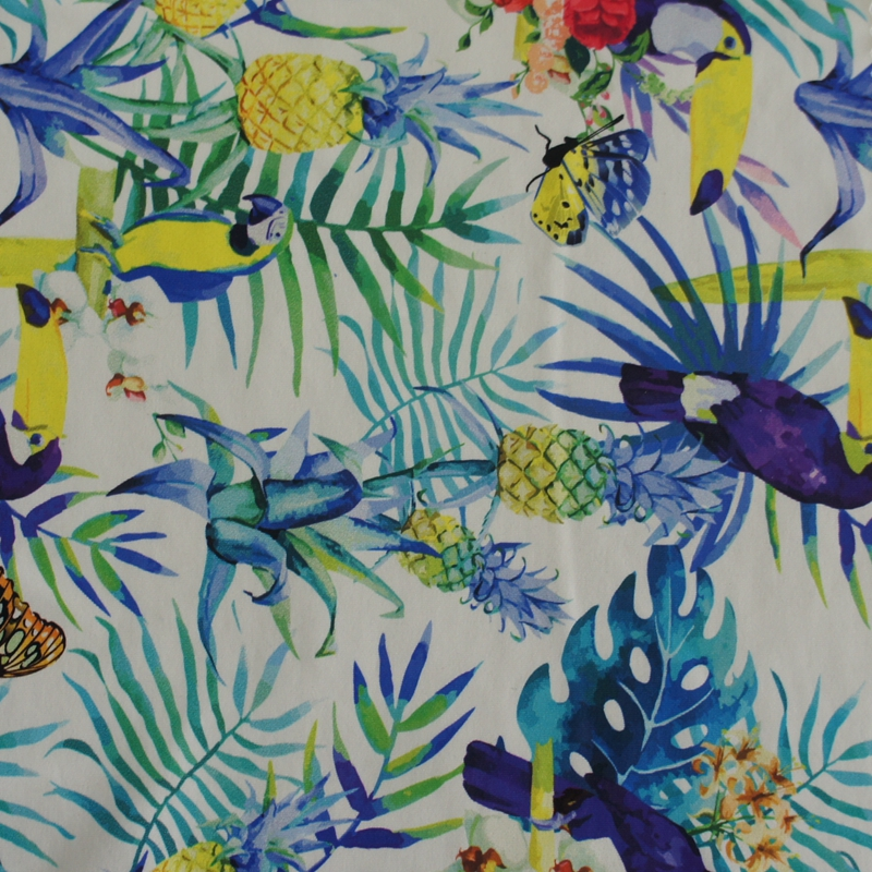 nylon lycra print high elastic swimsuit fabric