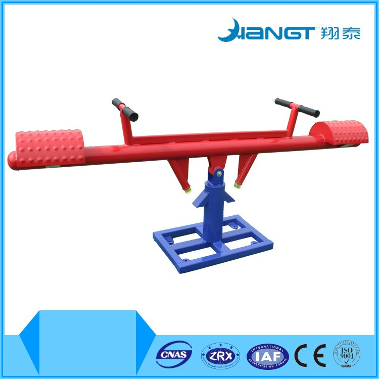 Outdoor Bodybuilding Exercise Fitness Equipment Supplements XT-A049 Children Seesaw for sale