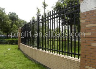 pool fence / garden fence / zinc steel fence Factory