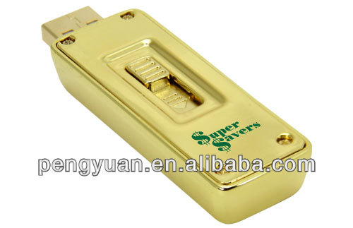 Hot Sale Gold Bar Usb Memory Stick ,Ingot USB Flash Drive 8GB/16GB/32GB Premium quality &low price