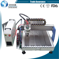 easy operation 600*900mm hot sale cnc wood lathe/6090 cnc router