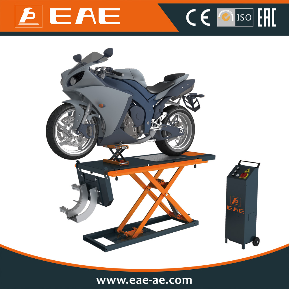 EAE EE-MLH1000A1000kg Scissor Air Hydraulic ATV Motorcycle Lift with CE
