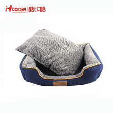 New style High quality anti-slip PV fleece designer dog pet bed furniture