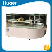 Cost-effective 0~10 degree donut display showcase cabinet refrigerator for bakery