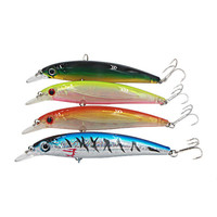 Hot sale 115mm 14g Minnow Fishing Lure Hard Artificial Bait 3D Eye Fishing tackle