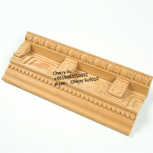 china wholesale wood furniture trim cornice crown moulding