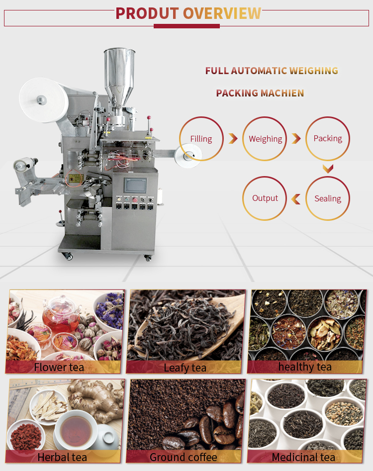 Fully automatic tea bag filling machine ,tea paper bag machine