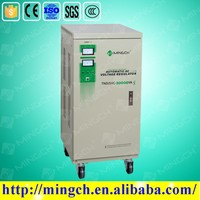 CE ROHS approved 30KVA vertical style full-auto high precision contact micro computer avr