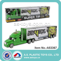 children large plastic toy trucks and trailers with light and music
