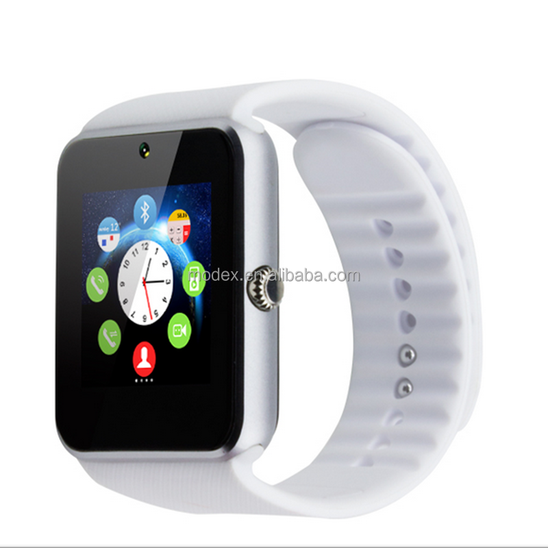ios android High quality gt08 bluetooth smart watch with camera for watch mobile phone