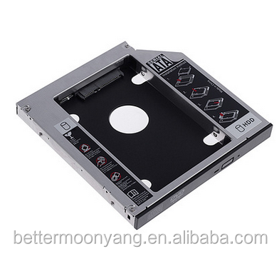 very popular with HDD External Caddy for laptop DVD -ROM Unversal HDD Caddy 12.7mm SATA