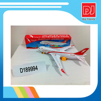 Electric Toy Battery Operated Toy Plane with Light and Music