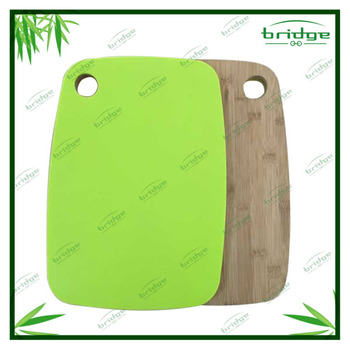 green color Bamboo cutting board