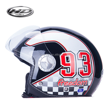 2017 novelty and fashion style Open face helmet / Motorcycle Helmet with DOT/ECE