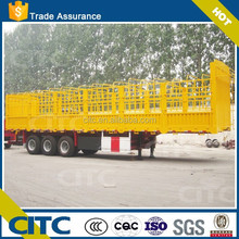 3 Axles Store House Bar cargo semi trailer for Vegetables Transportation with 12 container twist lock