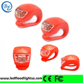 Multi color Silicon bike tail light Safety Cycling Light Mountain Bike LED Rear Light Bicycle Tail Light on promotion