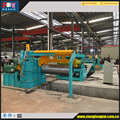 0.3-2.0X1350 cold roll and hot roll simple hydraulic slitting line slitting machine for metal coil