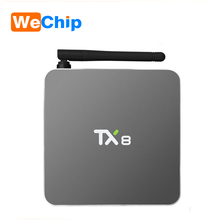 Lowest price TX8 Mini S912 2g 16g android 6.0 tablet dual wifi 2.4g / 5g KODI TV BOX