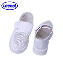 LN-1577106A PVC ESD Salle Blanche Chaussures Mesh Respirant Chaussures