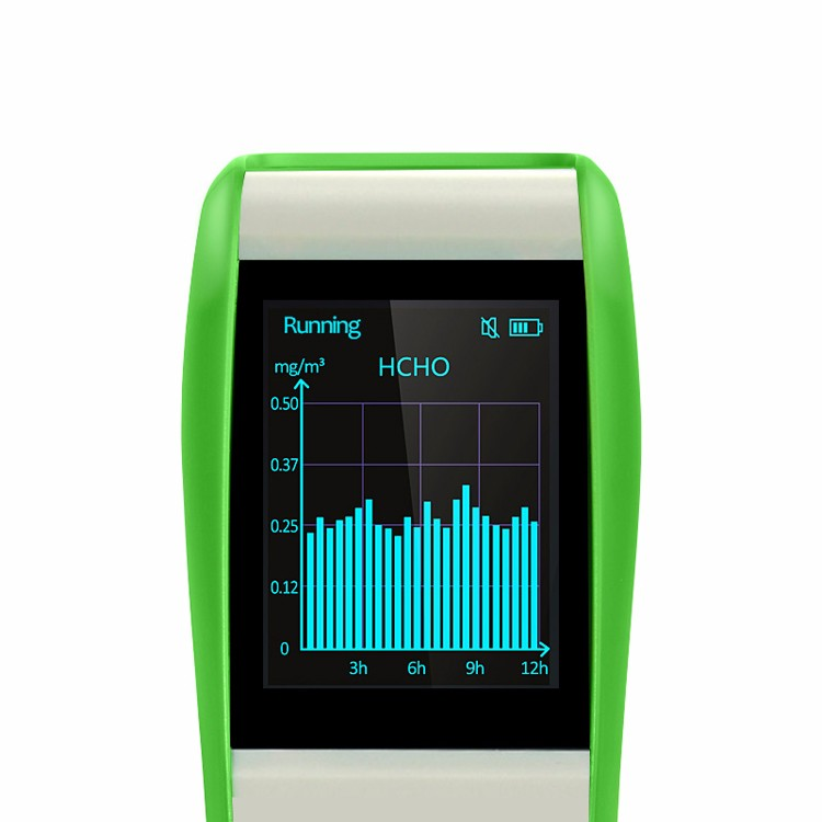 Fashionable Indoor Quality HCHO Monitor IAQ TVOC Monitor