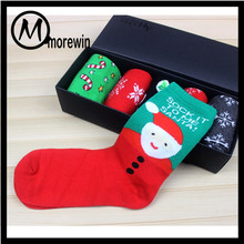 Morewin Sock Wholesale Colorful Christmas Socks Girl Fashion Cotton Tube Socks Manufacturer