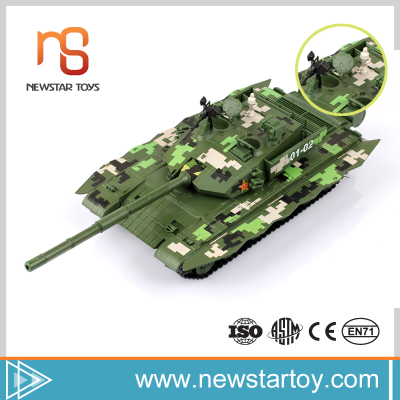 Best quality simulation model tank for 1:35 ZTZ-99