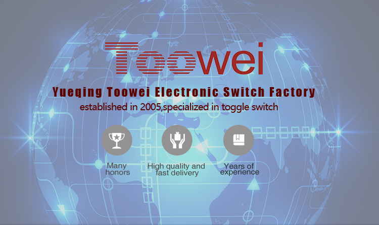 Toowei Factory Supply CE RoHS Approval IP67 Waterproof momentary push button switch