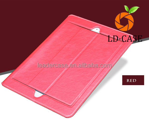 Newest designed folio PU leather folder tablet case for ipad Ultra-Thin case For iPad Air Chrismas gift
