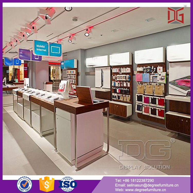 Shopping mall new showroom decoration showroom design electronics